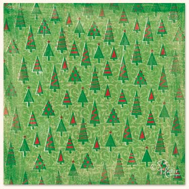 12 x 12 Flair Designs O' Christmas Tree