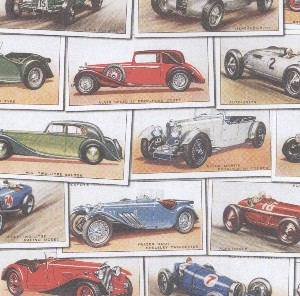 A4 Crafthouse Press Vintage Cars