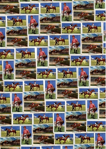 A4 Crafthouse Press Vintage Horse Racing