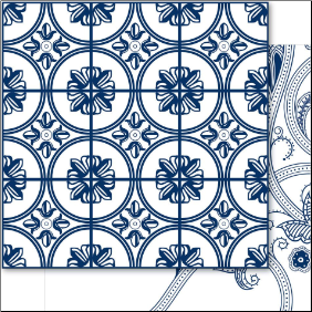 China Blue 12x12 Cardstock Steely Blue