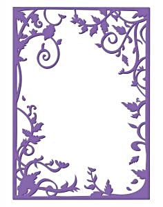 Couture Creations Embossing Folder Royal George