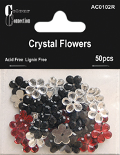 Craftime Crystal Flowers Classic