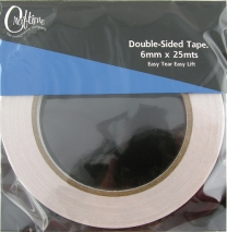 Craftime Double Sided Tape 6mm x 25m