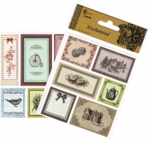 Craftime Enchanted Satin Tags B