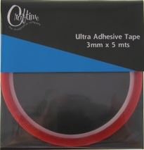Craftime Ultra Adhesive Tape 3mm x 5m