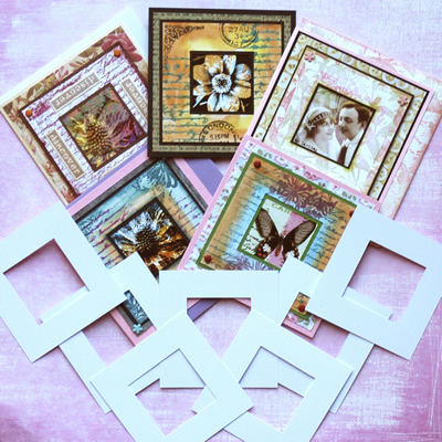 Crafty Individuals Die Cut Frames - Square