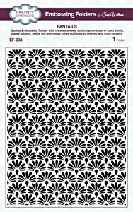 Creative Expressions Embossing Folder Fantails