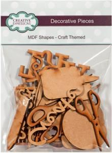 Creative Expressions MDF Shapes Craft Themed