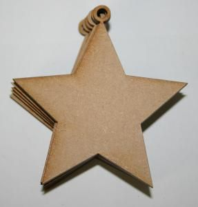 Creative Expressions MDF Small Stars