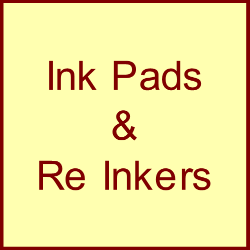 Ink Pads & Re-Inkers