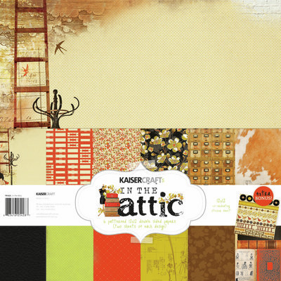 Kaisercraft In the Attic Paper Pack + Stickers