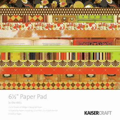 Kaisercraft In The Attic Paper Pad 6.5