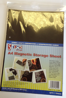 Stix-2 A4 Magnetic Storage Sheet