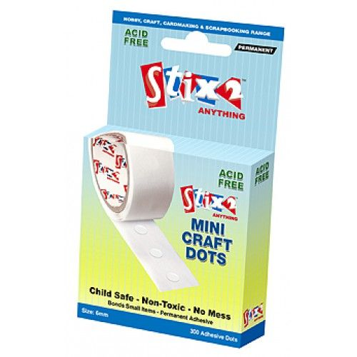 Stix-2 Mini Craft Dots - 6mm