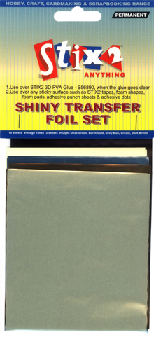 Stix-2 Shiny Transfer Foil Sea Tones
