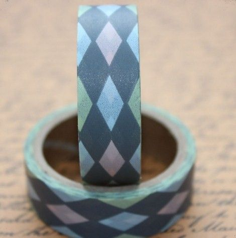 Washi Tape Argyle