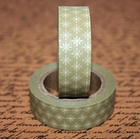 Washi Tape Gold Star
