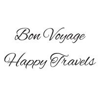 Woodware Clear Magic Singles Bon Voyage/Happy Travels