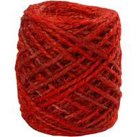 Woodware Natural Hemp Red 30m